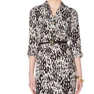 NWT The Limited Ashton Shirtdress Animal Print XL